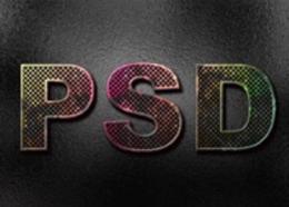 【PS】如何做一款锈迹斑斑的字体
