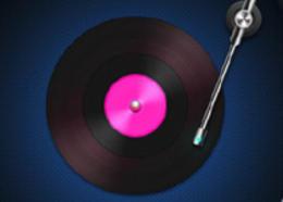 PS绘制设计唱片图标