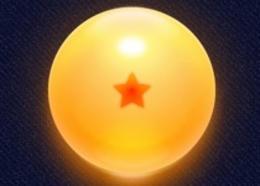 Photoshop绘制橙色发光效果的龙珠教程