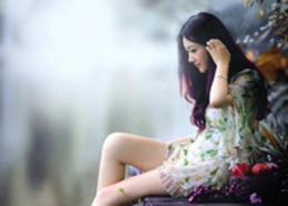 Photoshop調出江邊女孩唯美的暗色藝術效果