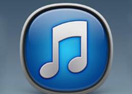 Photoshop繪制經典大氣的立體iTunes圖標