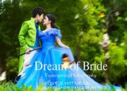 Photoshop调出外景婚片春季清新效果图