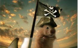 Photoshop合成可爱的海盗鼠船长教程