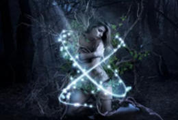 PS合成教程!创建一个魔幻的深林女孩