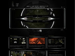 MMI超酷质感创意网站欣赏设计欣赏2.65M