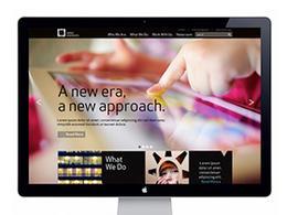 韋伯宣偉創意工作室網站欣賞重新設計