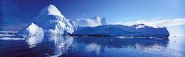 雪山高山南极海报背景图