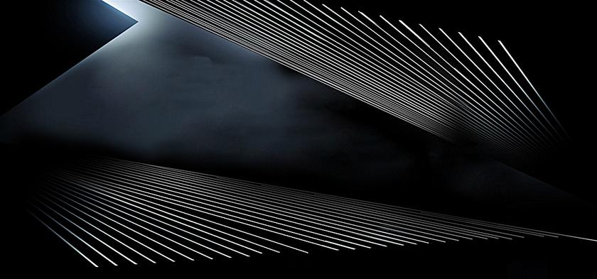 黑色炫酷几何线条背景banner,来自爱设计http://www.asj.com.cn