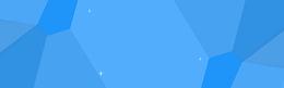 蓝色几何背景图