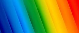七彩彩虹色简约斜色块淘宝背景