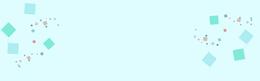 淘宝几何简约淡蓝色海报背景