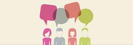 创意扁平化对话框设计素材