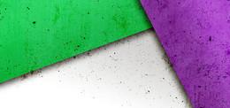 彩色背景几何体