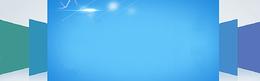 蓝色科技展示背景