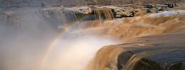 黄河瀑布图