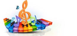 音乐创意背景