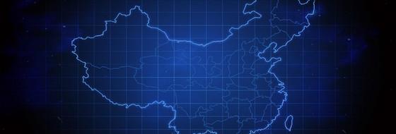 中國地圖背景
