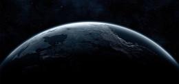 夜色地球背景