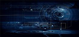 蓝色互联网科技背景