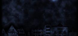 建筑科幻黑色影视海报背景