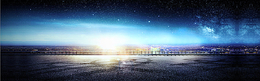 海港夜景banner
