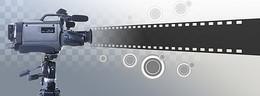 电影摄像背景banner设计
