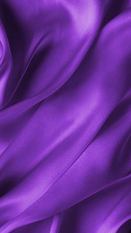 紫色綢緞H5背景