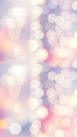 浪漫梦幻的水晶气泡H5背景