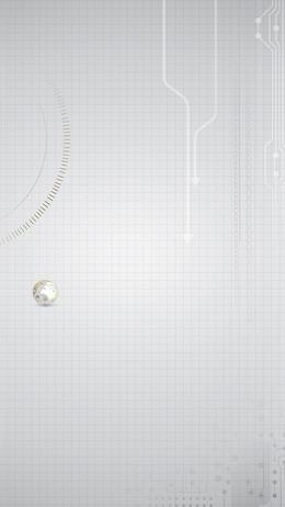 科技科幻银色商务封面背景素材