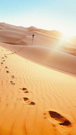 沙漠H5背景