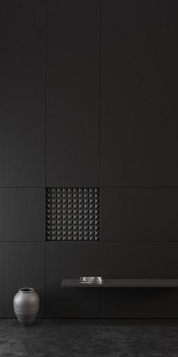 黑色质感H5背景
