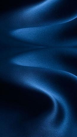 蓝色布料H5背景