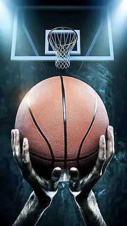 篮球运动H5素材背景