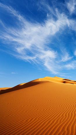 蓝天白云沙漠APP手机端H5背景