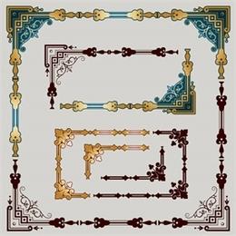 复古装饰边框