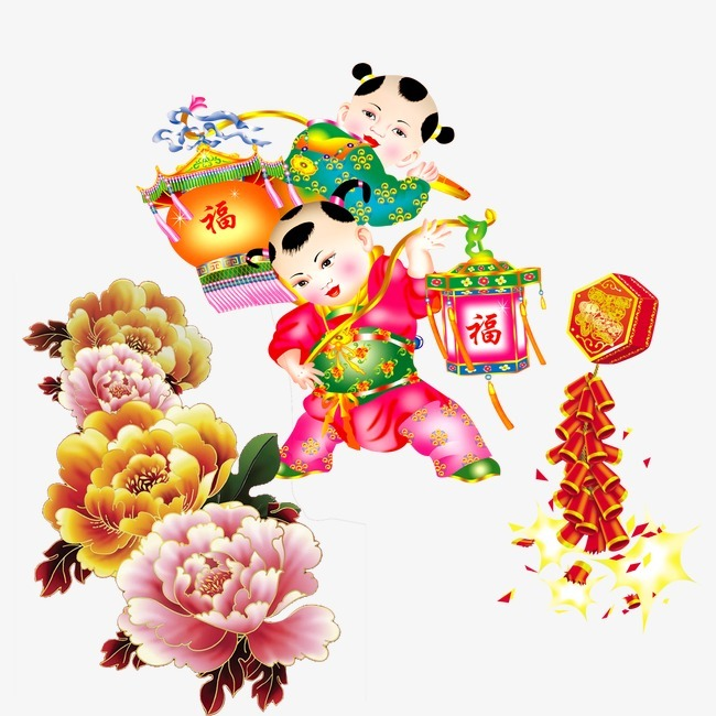 春节喜庆素材,来自爱设计http://www.asj.com.cn