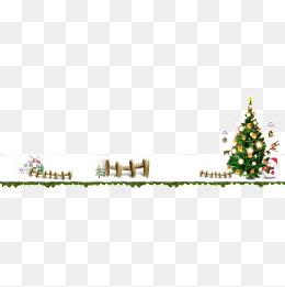 圣诞树雪人