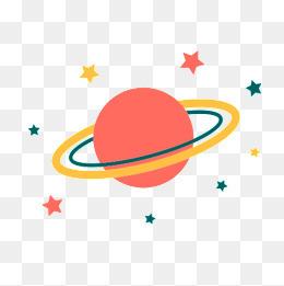 儿童海报星球素材
