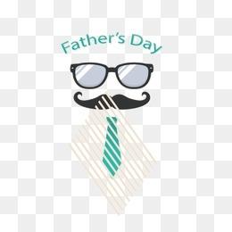 創意父親節 眼睛 胡子 領帶