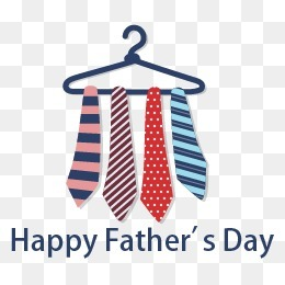 創意父親節領帶