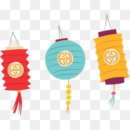 春节各式灯笼挂饰