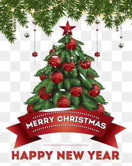 圣诞节背景底图松树