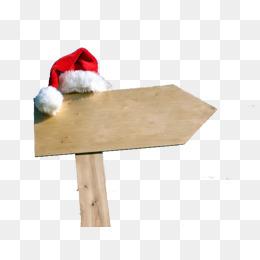 圣诞节路牌