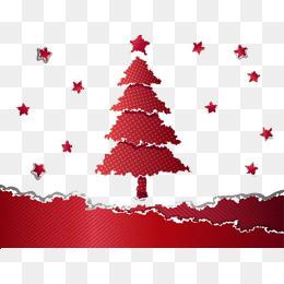 撕纸造型圣诞节