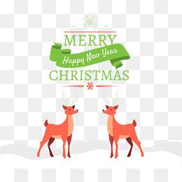 圣诞卡片装饰矢量