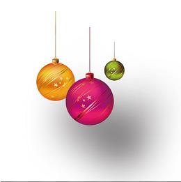 节日装饰彩球