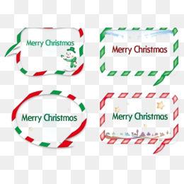 圣诞边框免扣素材