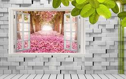 立體白色磚墻背景墻