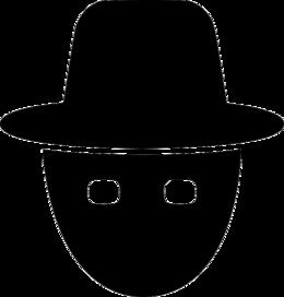黑客PNG透明背景