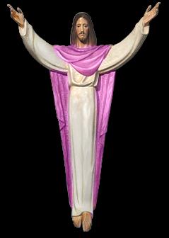 耶稣基督PNG透明背景图像,来自爱设计http://www.asj.com.cn